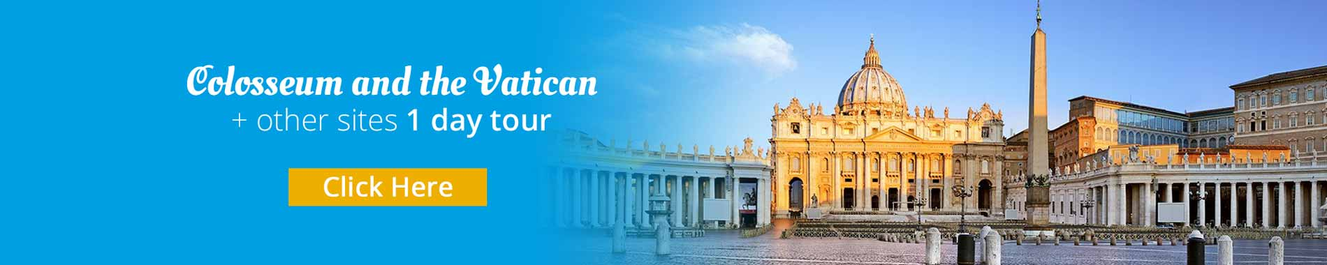 Rome One-Day tour