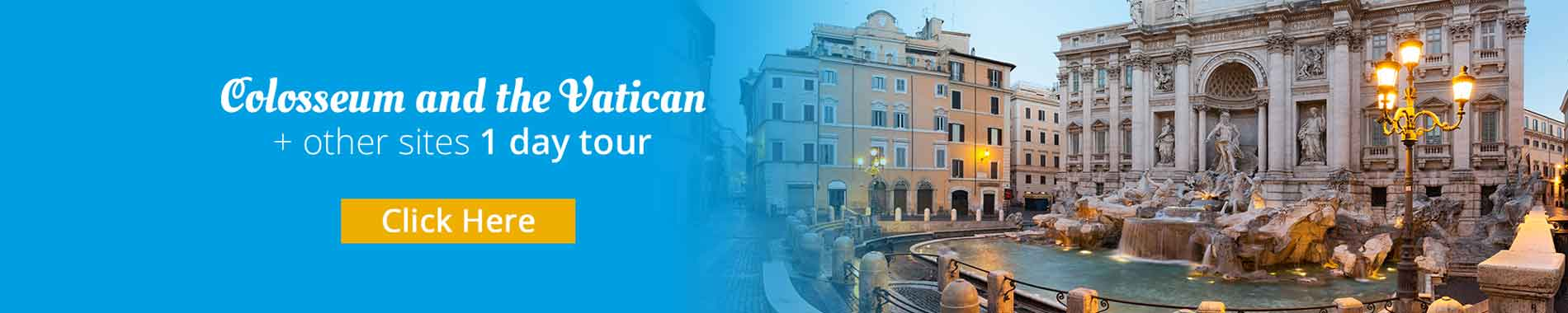 Rome Tour with guide