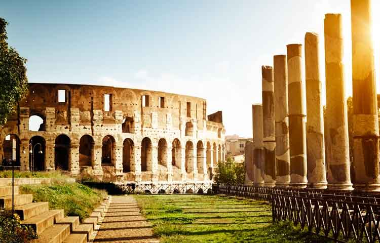 Sightseeing tour in Rome