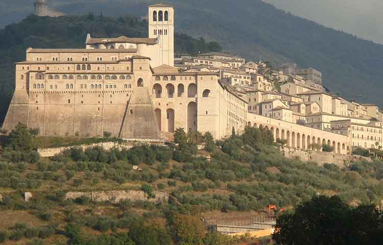 Private tour Assisi San Francis