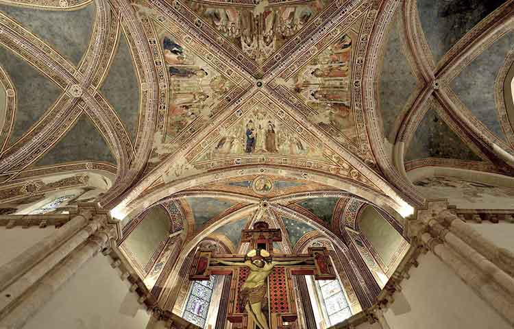 Saint Claire Church Assisi Tour