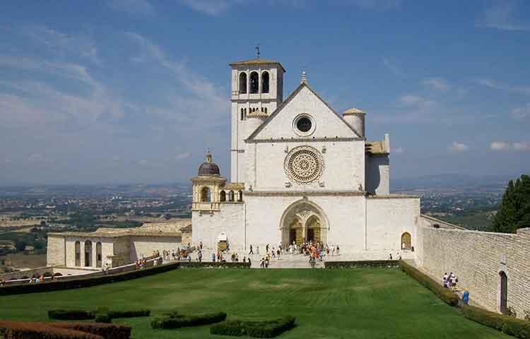Tour St Claire Church Assisi