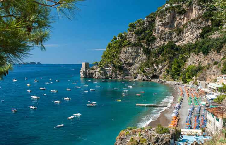 Private shore excursions Amalfi coast
