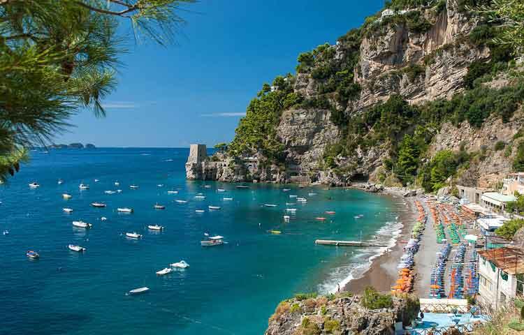 Private shore excursions Amalfi coast